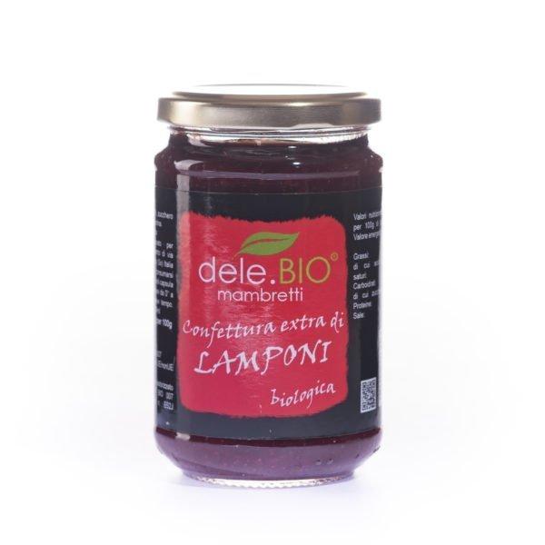 Marmellate Dele bio lamponi scaled