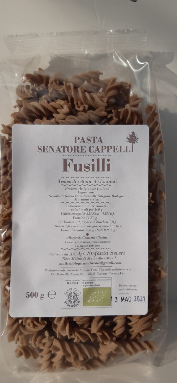 Fusilli pasta scaled