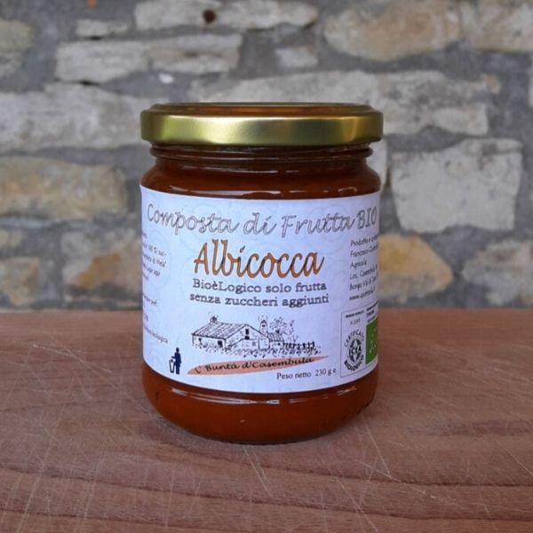 Composta di Albicocca Bio senza zucchero