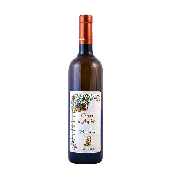 1 Gocce Ambra Pignoletto biologico Folicello vini vegani