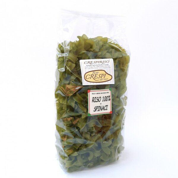 20 pasta di riso riccioli di riso e spinaci crespiriso 500g