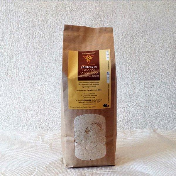 Farina Grano saraceno semi integrale